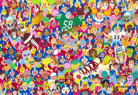 関東学生アメリカンフットボール連盟 ポストカード制作